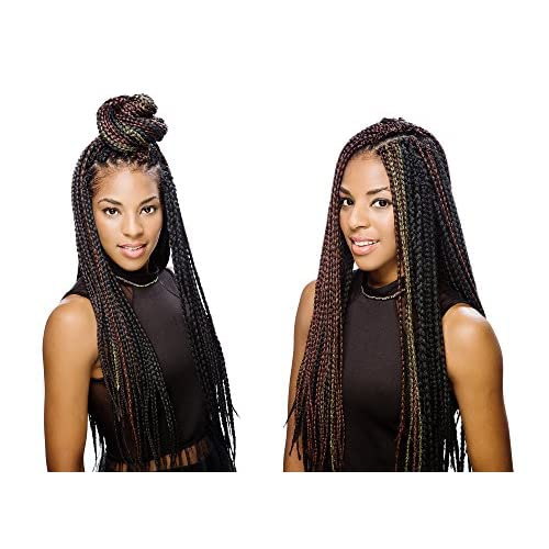 Innocence Box Braid Crochet Braids Small 1b900 Off Blackburgundy