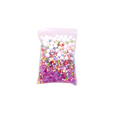 UOFOCO Mermaid Pearl Shell Sequins Slime Supplies Kit for DIY Slime Making Part: Toys & Games