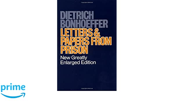 letters papers from prison amazones dietrich bonhoeffer libros en idiomas extranjeros