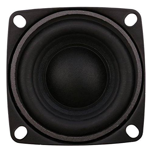low-cost Yeeco 2Pcs 2 inch 8 Ohm Mini Hifi Stereo Audio