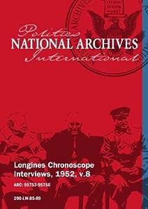 Longines Chronoscope Interviews, 1952, v.8: HENRY CABOT LODGE JR, JAMES MC DONALD