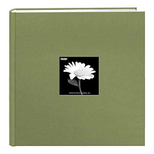 Pioneer Photo Albums DA-500CBF/SG Extra Large Capacity Photo Album, 4 x 6, Sage Green