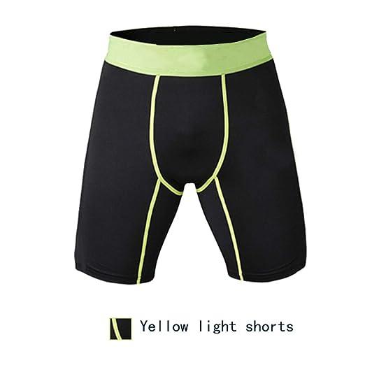 Pantalones cortos para hombres, mallas deportivas, entrenamiento ...