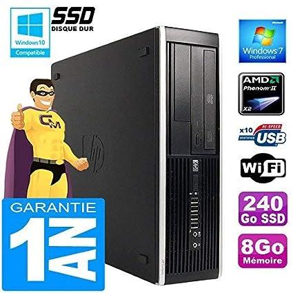 HP PC Compaq 6005 Pro SFF AMD Phenom II RAM 8 GB Disco de 240 GB ...