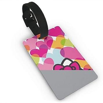 Meirdre - Etiquetas para Equipaje, diseño de Hello Kitty: Amazon.es: Hogar