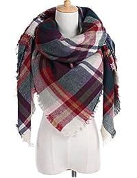 Dresstells Women's Stylish Blanket Plaid Scarves Gorgeous Wrap Tartan