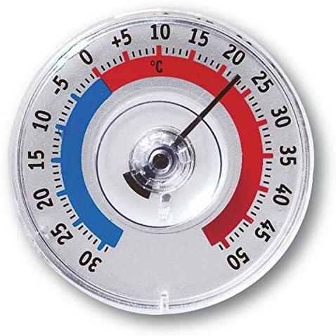 Tfa Dostmann Twatcher Fensterthermometer 14 6009 30 Außen Wetterfest Hergestellt In Deutschland Garten