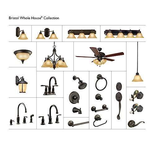 Design House 525790 Madison Kitchen Faucet with Sprayer and Soap Dispenser, Oil Rubbed Bronze