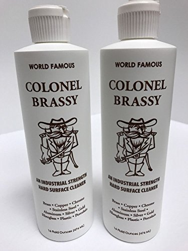 Colonel Brassy Surface Cleaner 2-pack 16oz Bottle Polish Vertex Industries