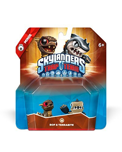 NEW - Skylanders Trap Team: Bop & Terrabite - Mini Character 2 Pack (Night Shift Skylanders)