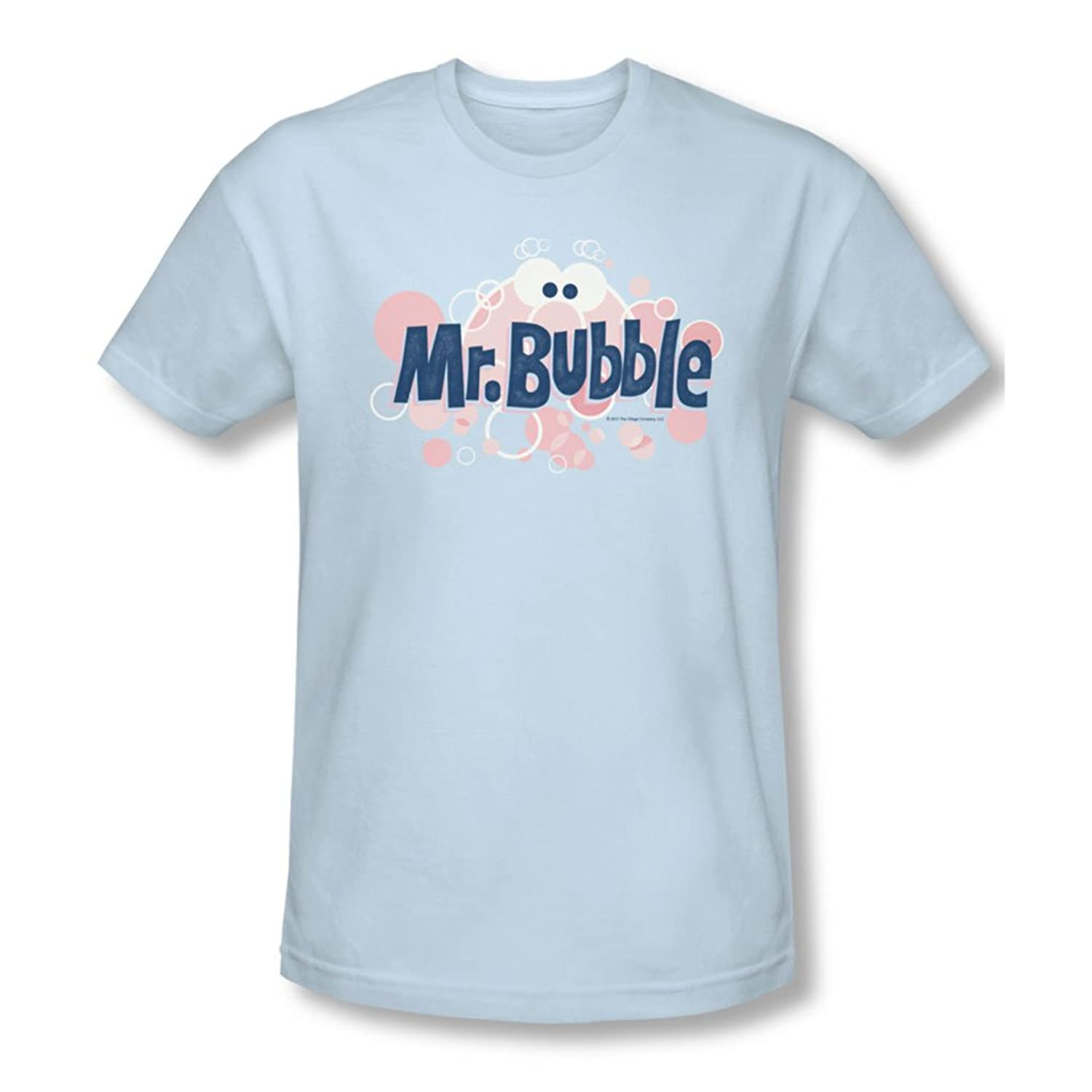 Mr Bubble - Mens Eye Logo Slim Fit T-Shirt