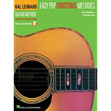 Easy Pop Christmas Melodies: Correlates with Any Book 1 (Hal Leonard Guitar Method) Book & Online Audio