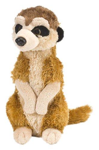 Wild Republic Meerkat Plush, Stuffed Animal, Plush Toy, Gifts for Kids, Cuddlekins 8 Inches