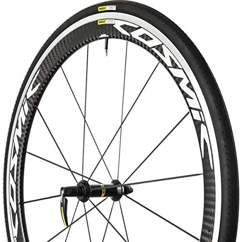 (Mavic 2017 Cosmic Pro Carbon WTS Front Road Bicycle Wheel (White - Front 25))