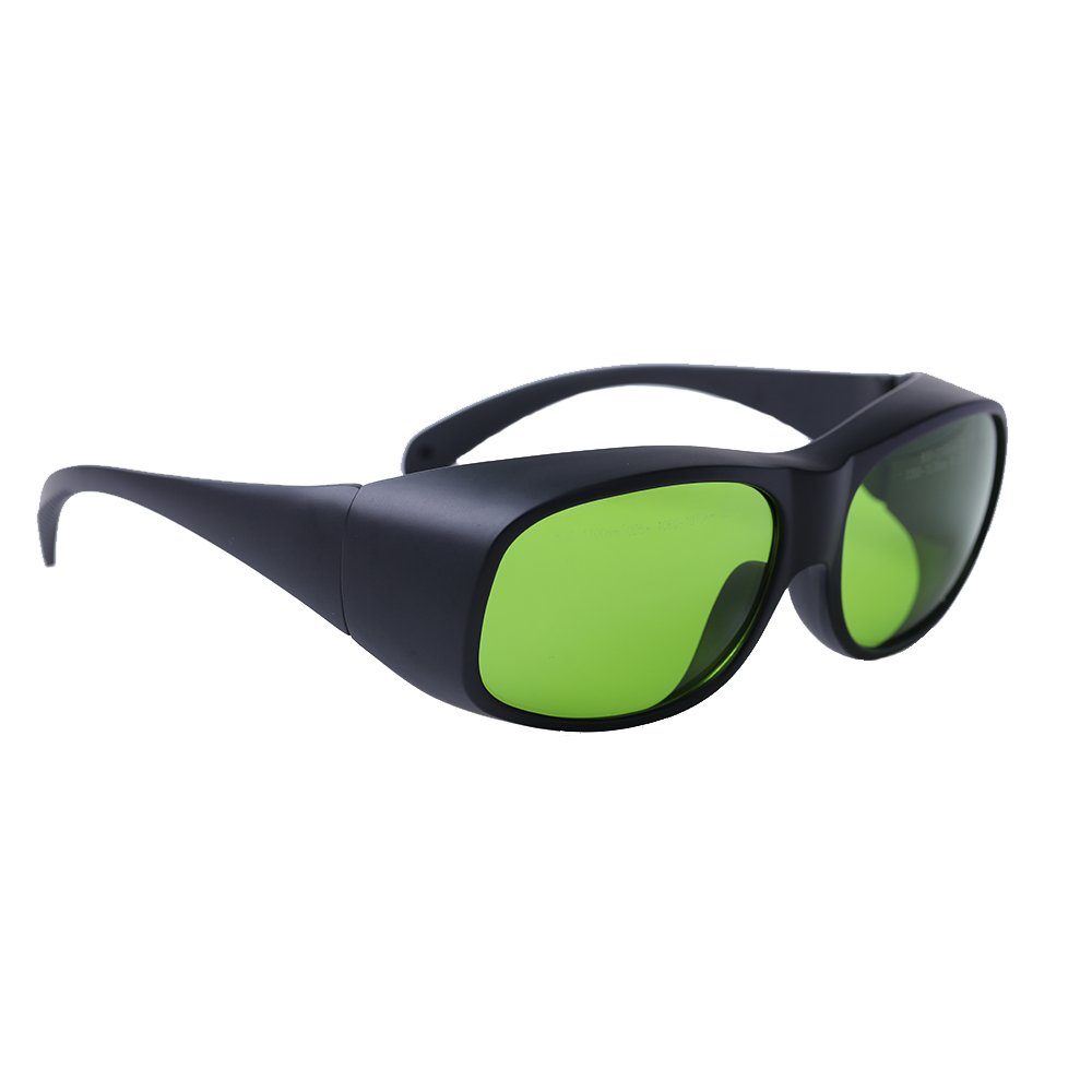 LP-LaserPair Laser Glasses 800 - 1100nm Absorption Type of Laser Protective Glasses Diode, Nd:yag Laser Protection Glasses Multi Wavelength 808nm, 980nm, 1064nm, Laser Safety Glasses by LP-LaserPair