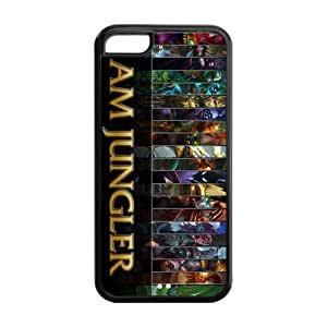 Game League of legends LOL - Jungler Heros TPU Cover Case for Apple iphone iPhone 5C