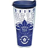 Tervis NHL Toronto Maple Leafs Wrap 24oz Tumbler with Navy Lid, Clear