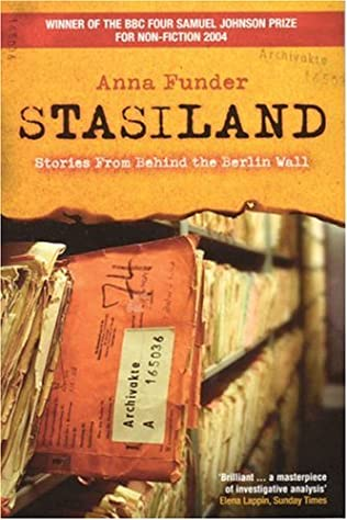 book cover of Stasiland