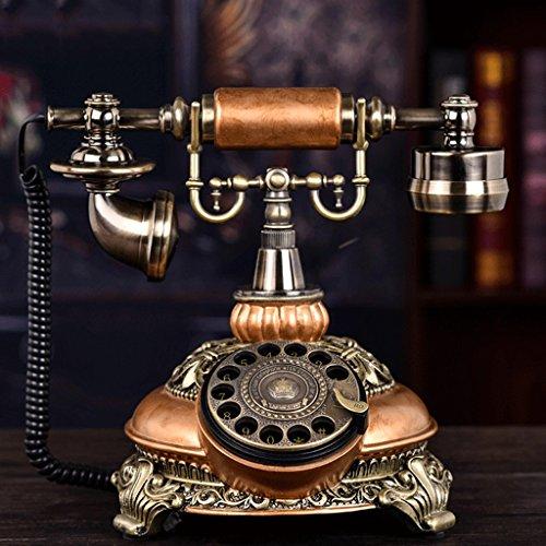 Hotel 2 Speakerphone Line (Corded Phone with Speakerphone/Vintage Decorative Telephones Landline Phone/Antique Phone (Color : 1))