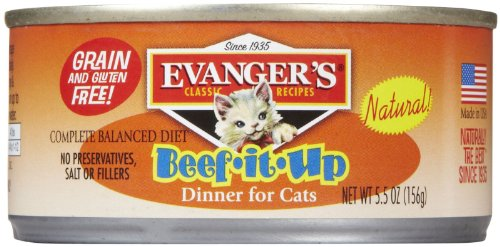 Evangers Classic Cat Food - Beef & Liver - 24x5.5 oz