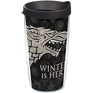 Tervis-Game-of-Thrones-House-Stark-16oz-Tumbler-with-Black-Lid