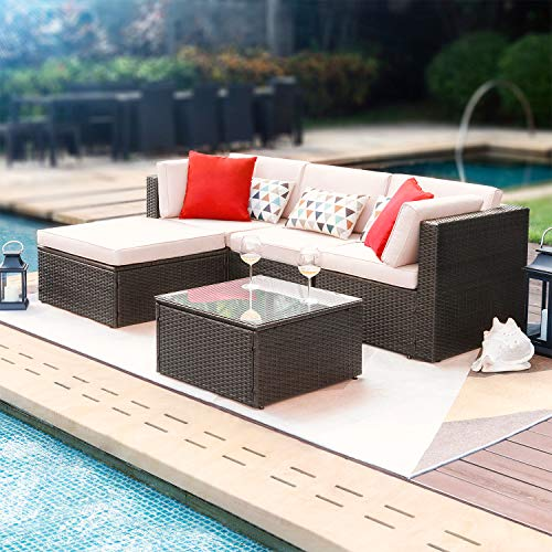 All-weather sectional sofa