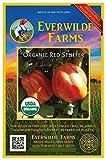 Everwilde Farms - 1 Oz Organic Red Stuffer Heirloom Tomato Seeds - Gold Vault Packet