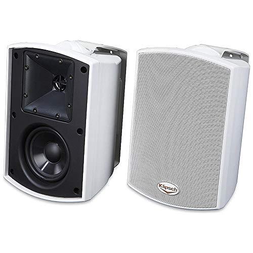 Lançamento Especificações Melhor: Caixa 200W Klipsch AW 400 Branco, Vale A Pena Comprar