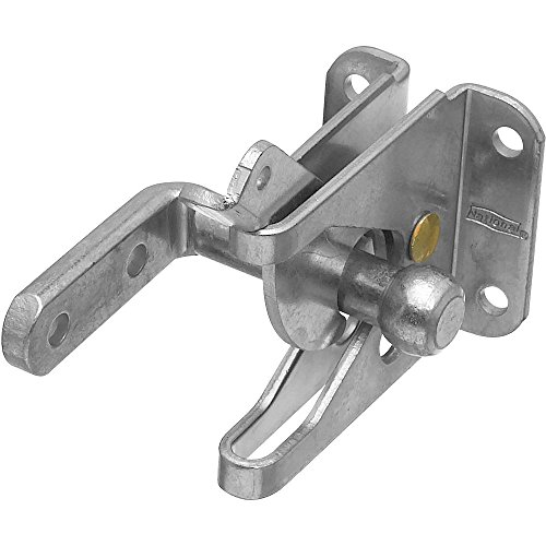 National Hardware N101-352 V22 Automatic Gate Latch in Zinc plated