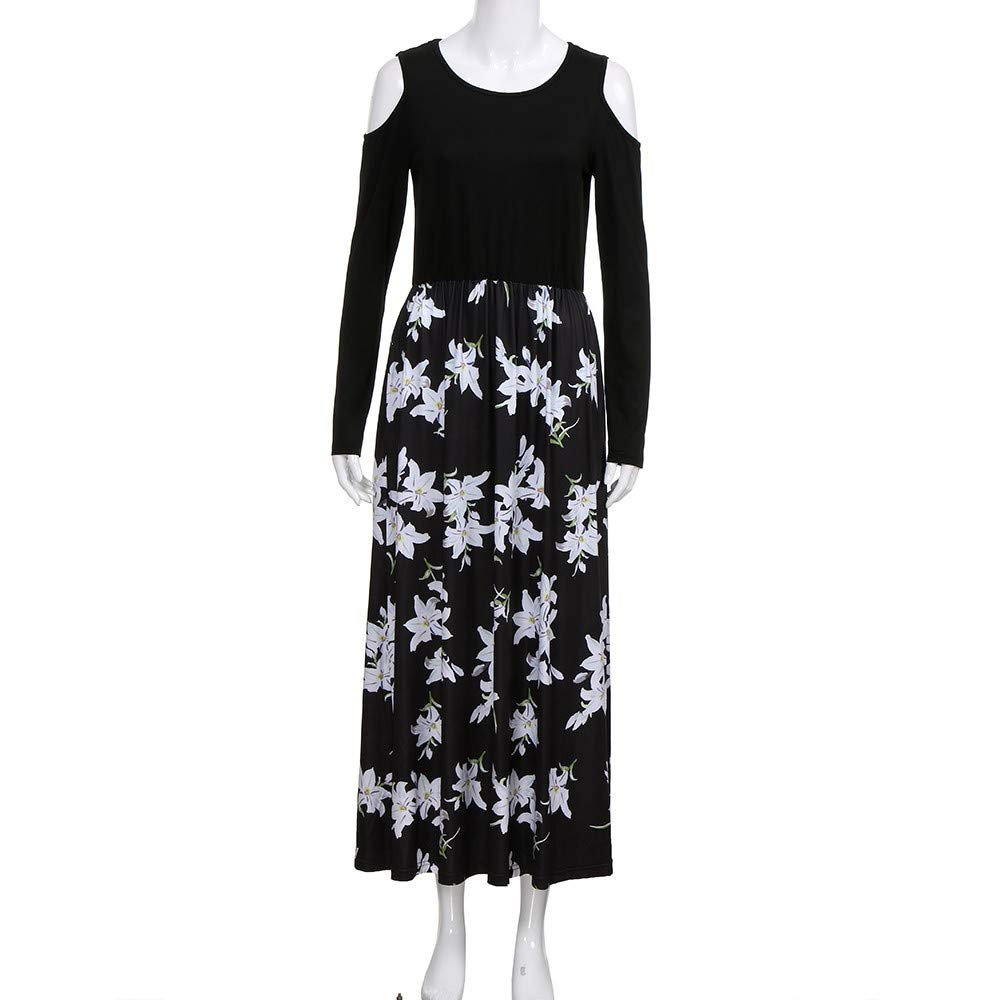 f2390f7033c Chanyuhui Women Tunic Tops Dresses Lady Plus Size Stripe Sleeveless Sundress  Summer Beachwear Long Maxi Dress