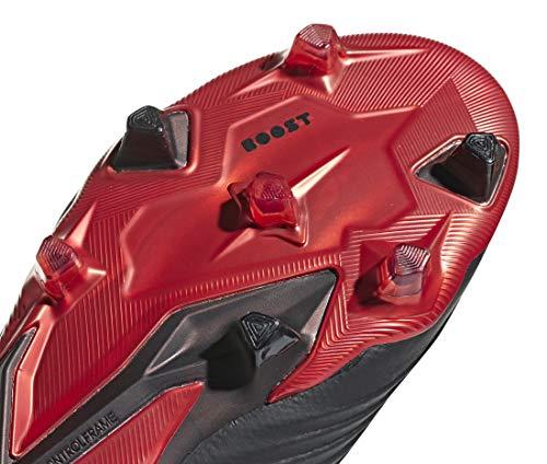 Colore Nero 18 Misure 7 Red FG CBLACK 5 adidas Predator Ftwwht 4Bw4Yq