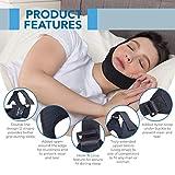 Sleep Legends Premium Anti Snoring Chin Strap w/New