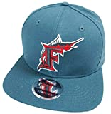 New Era Florida Marlins Dark Teal MLB Cooperstown Snapback Cap 9fifty Limited Edition