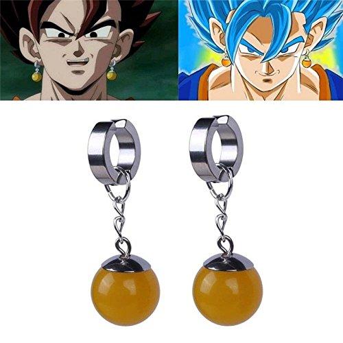 Anime Super Dragon Ball Z Vegetto Potara Earring Cosplay Earrings Ear Stud (Ebay Elf Costume)