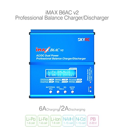 Genuine SKYRC iMAX B6AC V2 AC/DC Dual Power Professional LiPo Battery Balance ()