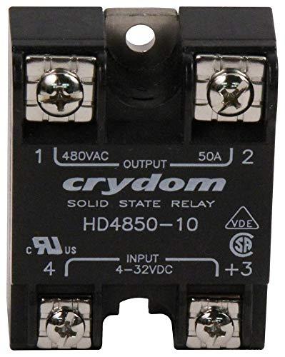 Random Turn On HD4850-10 50 A Screw 530 VAC Solid State Relay Panel SENSATA//CRYDOM