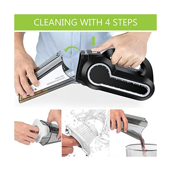 Cordless Vacuum 12V 120W Portable Cordless Vacuum Cleaner Wet Dry Hand Held Car Vacuum Dust Busters For Home Or Car With 4KPa Suction Pet Hair Eraser LED Light By Dr Auto