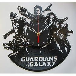 Guardians of the Galaxy Vinyl Clock Record Wall Clock Handmade Fan Art Decor Unique Decorative Vinyl Clock12 (30 cm)