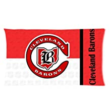 Custom Hot Leveland Barons NFL Logo Rectangle Pillow Cases 20x36 One side