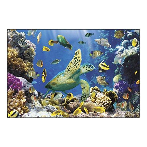 Ocean Undersea Tropical Fish Party Decoration Wall Mural (Undersea Backdrop)