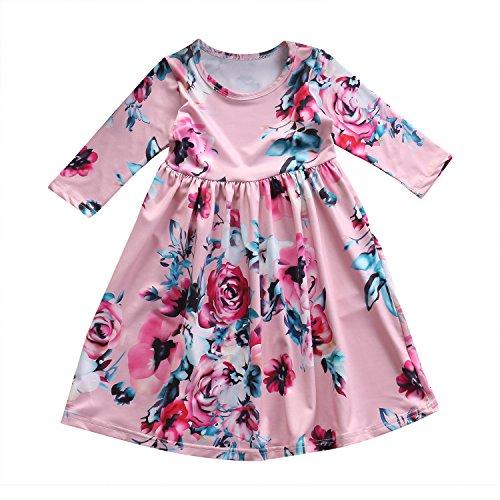 Floral Toddler Dress - 1