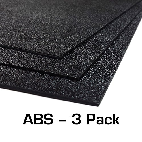 ABS Plastic Sheet 3-pack 12