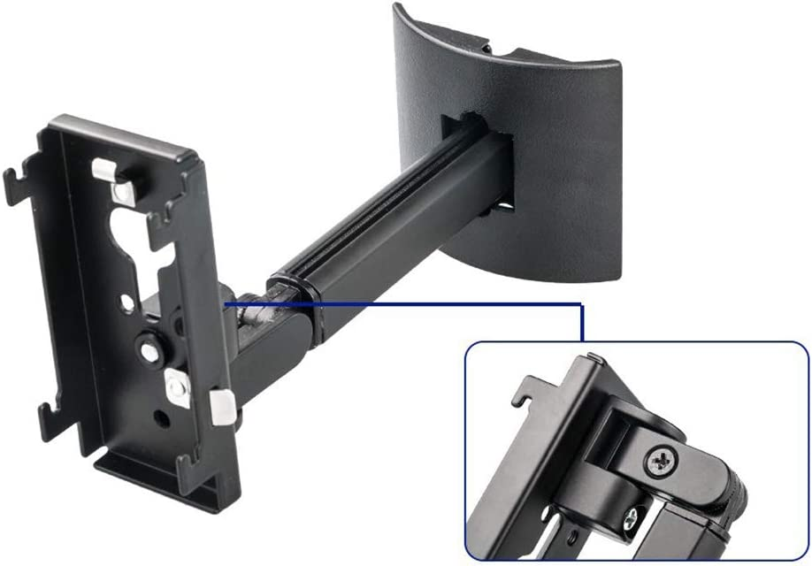 Speaker Bracket for Bose UB-20 Series II,Steel Wall Mount Ceiling Bracket Stand Speaker Stand Ceiling Mount Speaker Bracket with Adjustable Arm for UB-20II