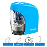 Cool-Shop Pencil Sharpener with Auto Feature - Electric Portable Pencil Sharpener for 8mm diameter Pencils, for School Classroom, Home Study, Office Use