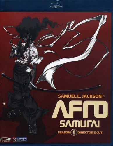 Afro Samurai Bluray Direct [Blu-ray] Not Available Funimation! Unidisc 4057104 Anime / Japanimation