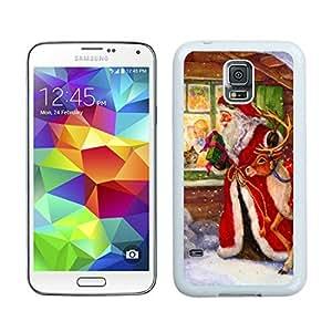 Fashion Style Merry Christmas White Samsung Galaxy S5 Case 59 by icecream design