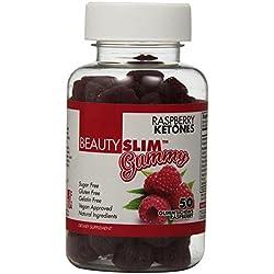 Beauty Fit Slim Gummies Raspberry Ketones, 50 Count