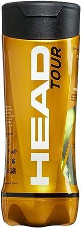 HEAD Tour - Palline da tennis (Tubbo di 3): Amazon.it: Sport e