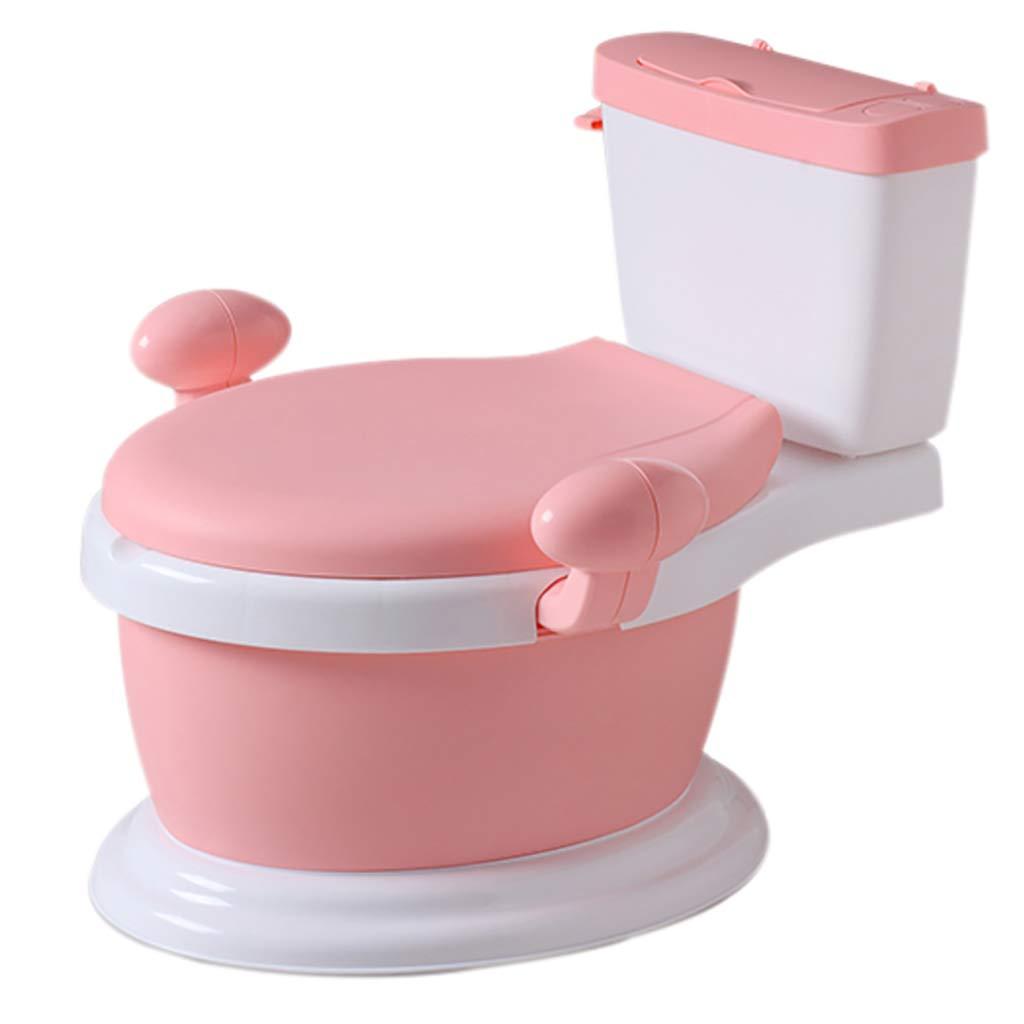 LIU UK Portable Toilet Baby-WC-Trainer Sitz Kinder Simulation WC 1-6 Jahre Baby TöPfchen Stuhl Abnehmbare Easy Clean Innen TöPfchen FüR TöPfchen Training Ihres Jungen Und MäDchen