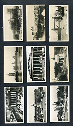 1929 Carreras Views Of London Complete Set 27 Cards 283422 Kit Young - London Carreras